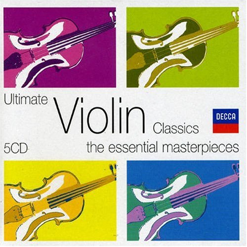 Ultimate Violin Classics [5 CD Box Set]