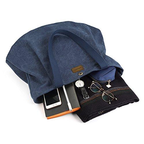Tela tamaño SMRITI Azul para Mujer Bolso de Azul BBwq16E
