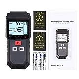 Proster EMF Meter 1~1999 V/M Digital LCD EMF Detector 0.01μT-99.99μT(0.1mG-1000mG) Electromagnetic Field Radiation