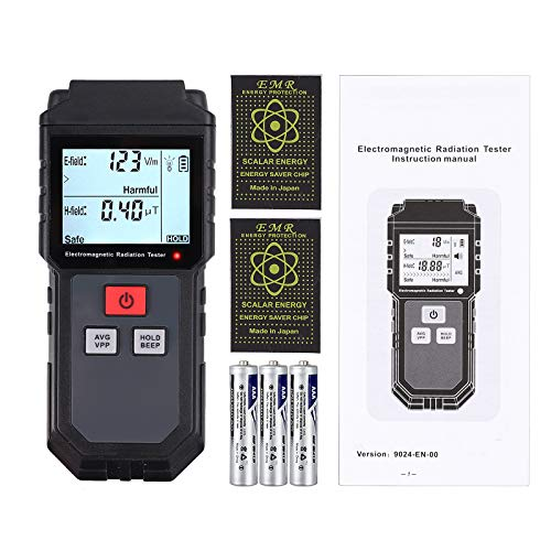 - Proster EMF Meter Electromagnetic Field Radiation Detector Handheld Mini Digital LCD EMF Detector with Anti Radiation Shield