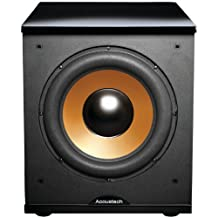 BIC AMERICA BICH100II, 12-Inch Front-Firing Powered Subwoofer with Black Lacquer Top