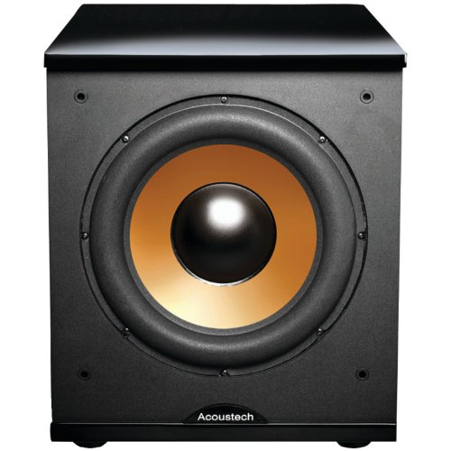 BIC America H-100II 12-Inch 150 Watt Front Firing Powered Subwoofer, (Black) by BIC America