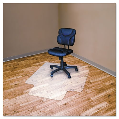 Advantus RecyClear Chair Mat For Hard Floors Recycled 36 X 48 Inches With 2