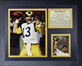 "Legends Never Die ""Kurt Warner St. Louis Rams"" Framed Photo Collage, 11 x 14-Inch"