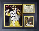 "Legends Never Die ""Kurt Warner St. Louis Rams Framed Photo Collage, 11 x 14-Inch"