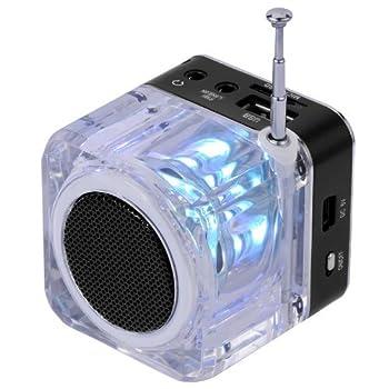Nizhi Tt-028 Mp3 Mini Digital Portable Music Player Micro Sd Usb Fm Radio (Black) 1