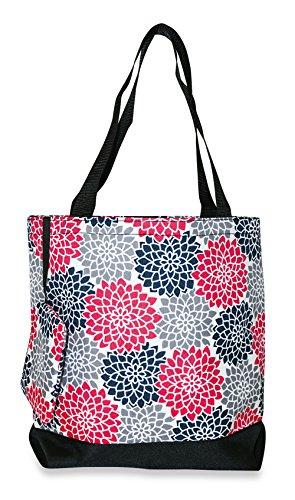 Floral Printed Tote Bags - 4