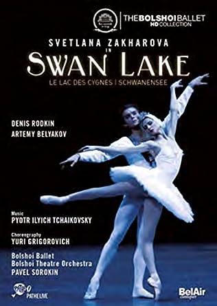 Swan Lake: The Bolshoi Ballet [DVD]: Amazon co uk: Svetlana