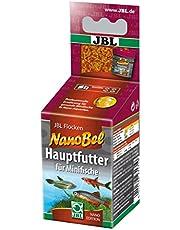 JBL Nano-Bel 23171 karma uniwersalna dla małych ryb akwariowych, karma w płatkach, 60 ml