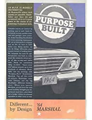 1964 Studebaker Marshal City Patrol Pursuit Police Car Brochure