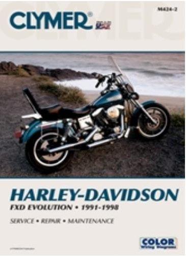 (Clymer Publications MANUAL HARLEY DYNA-GLIDE 91-98 Manuals & Videos Cylmer Manual91-95 Dyna Models - M424-2 by Clymer)