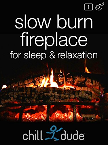 Slow Burn Fireplace for Sleep & Relaxation