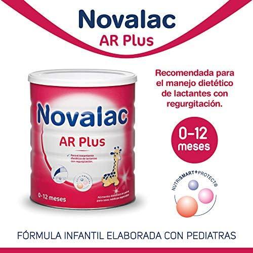 NOVALAC AR Plus Leche infantil para bebés de 0 a 12 mese. 800G ...