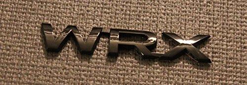 GetUrGear Trunk Emblem Badge for WRX 2015+ (Glossy Black)