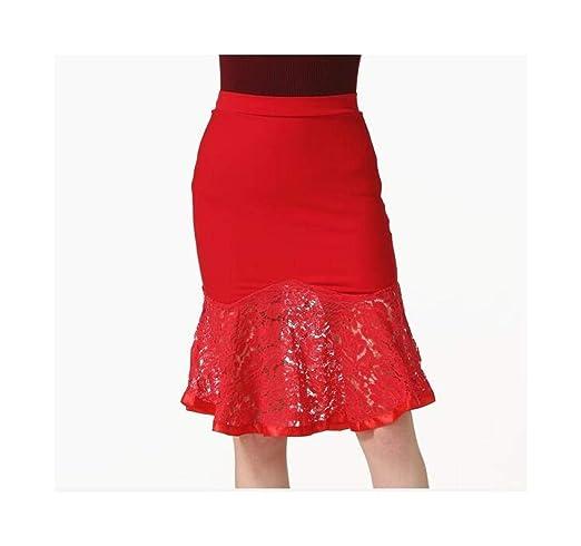 FELICIGG Paquete Sexy Cadera Falda de Cola de Pescado Falda de ...