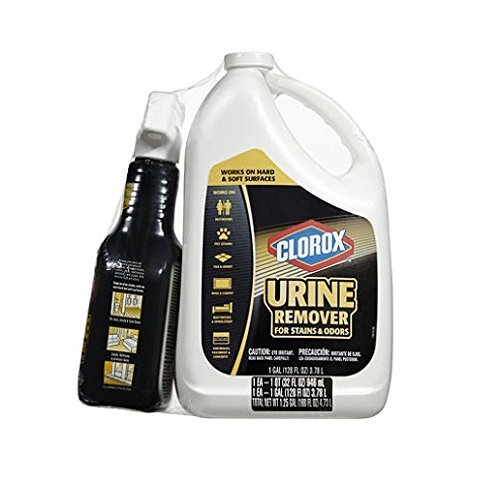 (Clorox Urine Remover for Stains and Odors (32-oz. Spray Bottle and 128-oz. Refill Bottle))