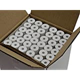 "144 rolls Thermal Paper 2-1/4"" x 30 ft for Poynt Smart Terminal Receipt Printer 25mm diameter, CORELESS, BPA Free"