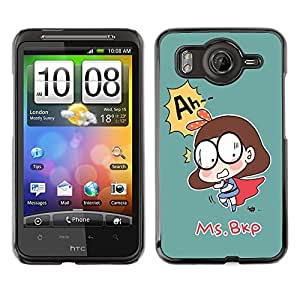 Dragon Case - FOR HTC G10 - ?the silent company? - Caja protectora de pl??stico duro de la cubierta Dise?¡Ào Slim Fit