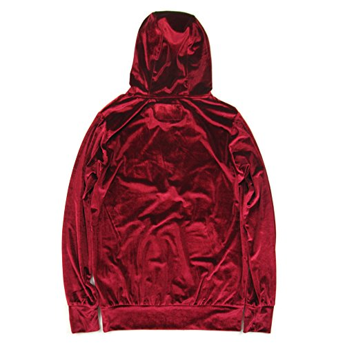 Unfour Hip Velours Oversized Rouge Hop Capuche À Sweats Vfive Haw4H