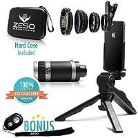 Camera Lens Kit by Zeso | Professional Telephoto, Macro &...