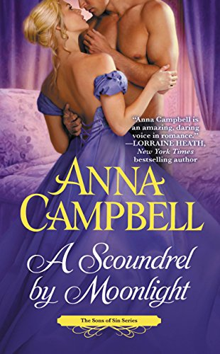 book cover of A Scoundrel by Moonlight