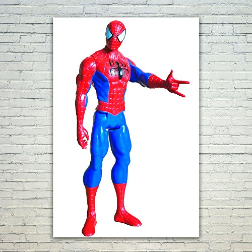 Westlake Art Action Figure - Poster Print Wall Art - By Modern Picture Photography Home Decor Office Birthday Gift - Unframed 12x18 Inch (New Spiderman Costume Images)