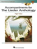 Accompaniments for the Lieder Anthology, Richard Walters, Virginia Saya, 1423413059