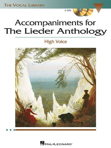 Free The Lieder Anthology - Accompaniment CDs: The Vocal Library High Voice