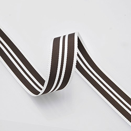 - 10-Yards Grosgrain Stripe Ribbon, 7/8