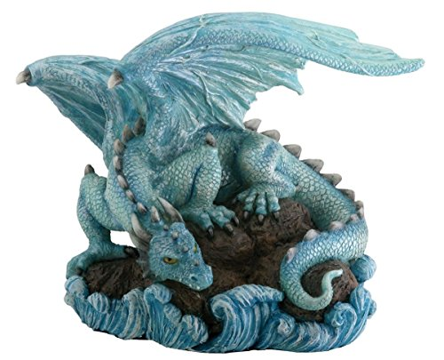 Water Dragon Fantasy Figure Decoration