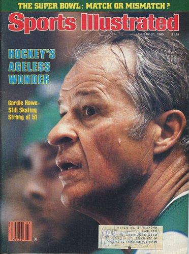 Gordie Howe 1980 Sports Illustrated Magazine