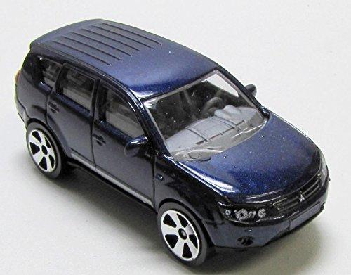 - MAJORETTE Mitsubishi Outlander metal Blue 1:64 no box