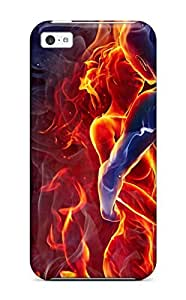 GAlRJNj11193BGWUF Anti-scratch Case Cover ZippyDoritEduard Protective Burning Passion Case For Iphone 5c