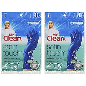 Amazon Com Mr Clean 243056 Satin Touch Latex Free