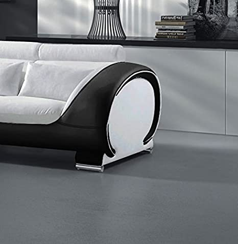 SAM® rinconera Vigo Combi 1 181 x 242 cm en blanco negro ...
