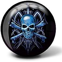Brunswick Skull Viz A Ball Bowling Ball (10lbs) by Brunswick