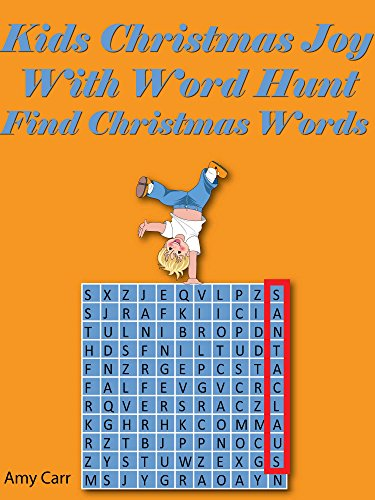 kids christmas joy with word hunt find christmas words by carr amy