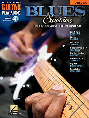 Blues Classics: Guitar Play-Along Volume 95