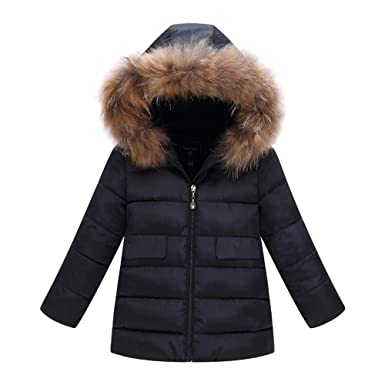 Amazon.com: Rosiest Fashion Kids Coat Boys Girls Thick Coat Padded Winter Warm Jacket Clothes: Clothing