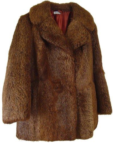 Nutria Fur Coat (NETTAILOR Women's American Nutria Fur Jacket)