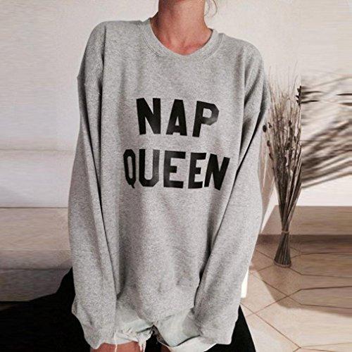 FAPIZI-Women-Ladies-Letter-Print-Long-Sleeve-Sweatshirt-Loose-Pullover-Blouse-Top-Shirt-S-Gray-D