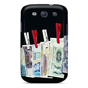 TimLwer Case Cover For Galaxy S3 - Retailer Packaging Money Laundrying Protective Case