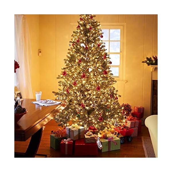 Avoalre Catena Luminosa 500 LED 100M Stringa Luci Natale 8 Modalità Interno/Esterno Impermeabile LED Luci Decorative per Atmosfera Romantica Camera Festa Nozze Compleanno Natale, Bianco Caldo 3 spesavip