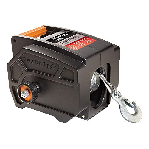 Winch, Portable 12-Volt DC Electric Winch, 2953AT ()