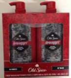 LOT OF 2 Old Spice Swagger Body Wash 64 Ounces Total Man Sized Shower Bath NEW