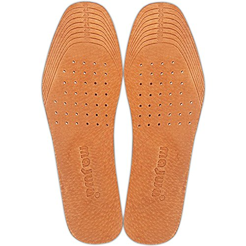 [2 Pair] Shoe Insoles for Stinky Feet-Foot and Shoe Odor Inserts for Women and Men's Shoes-Cinnamon Inserts and Flats for Sweaty Feet and Hyperhidrosis(US 5.5-10.5) (US (5.5-10.5))