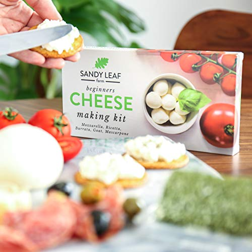 Beginners Cheese Making Kit - Make your own Goat, Mozzarella, Ricotta, Mascarpone, Burrata
