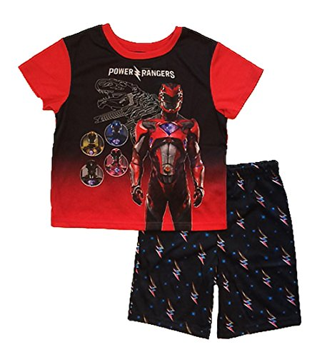 Power Rangers Movie Little & Big Boys Poly Pajama Set