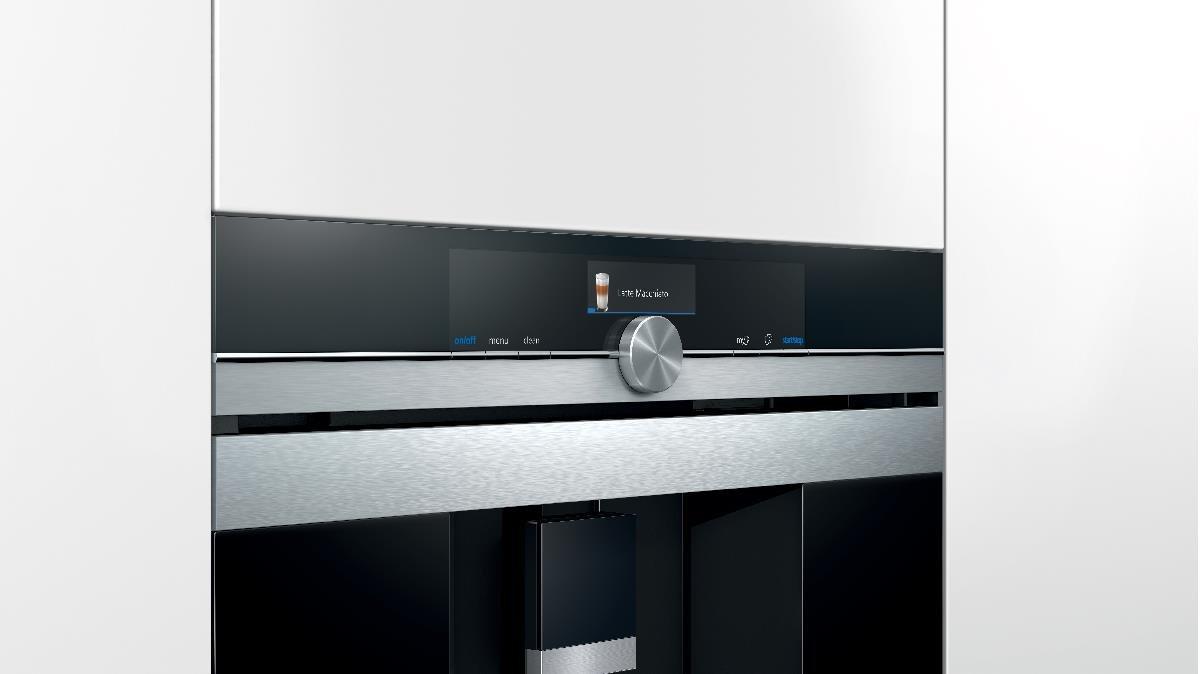 Siemens-LB iq700 - Centro Espresso ct636les1 Cristal Negro ...