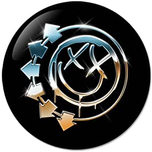 blink-182 #3 Music Collection Bottle Opener Round Button Badges With Refrigerator Magnet, NEW 2.25 Inch (58mm)